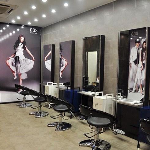 Uốn/duỗi/nhuộm+cắt + hấp dầu đặc trị - Hair Salon Nguyễn Khải
