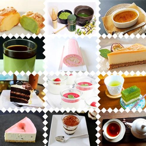 Set 10 loại bánh và 2 ly trà Nhật tại The Cafe-Star Kitchen