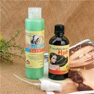 Cùng Mua - Combo dau goi và duõng chát mọc tóc tù tinh dàu buỏi