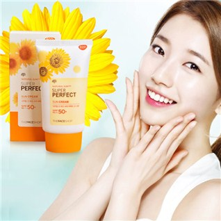Cùng Mua - Kem chong nang Natural Sun Eco Super Perfect Sun Cream SPF50
