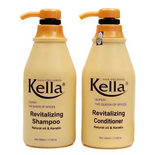 Cùng Mua - Combo Dàu gọi + xa Kella Revitalizing phục hòi tóc hu