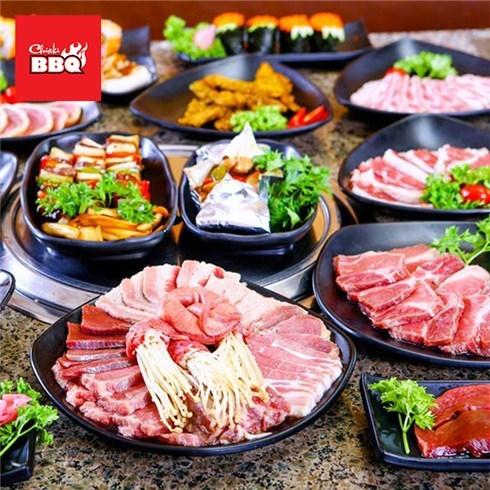 Buffet lẩu nướng Nhật Bản (100 món) tại Nhà hàng Chiaki BBQ
