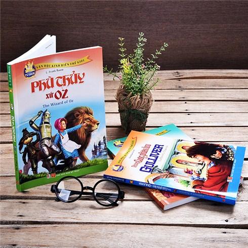 Combo 3 cuốn sách in màu tại Huy Hoàng Book Café
