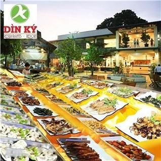 Cùng Mua - Buffet toi hai san, lau, nuong - Nha hang Din Ky (thu 3 - CN)