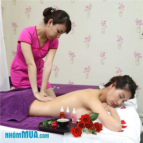 Massage body tinh dầu gừng thải độc tố 60 phút - V10 Plus Spa