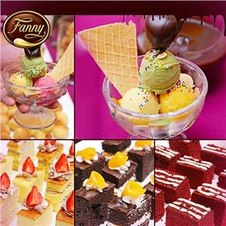 Cùng Mua - Buffet Kem Fanny - Thuong hieu kem Phap noi tieng the gioi