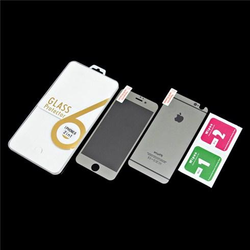 Dán cường lực màu 2 mặt cho iphone 6 - đen