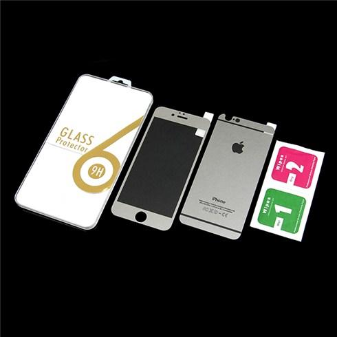 Dán cường lực màu 2 mặt cho iphone 6 - bạc
