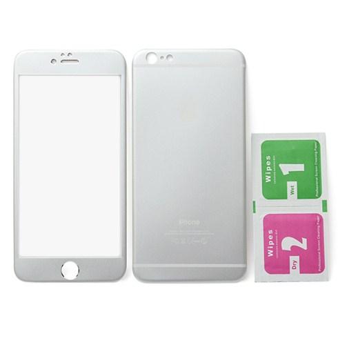 Dán cường lực kim loại 2 mặt cho iphone 6 Plus - trắng