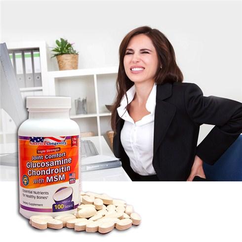 Thực phẩm chức năng hỗ trợ xương khớp nhập khẩu từ Mỹ (100 vi