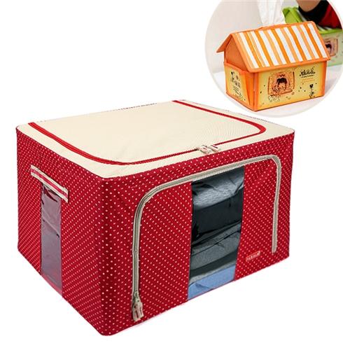 Tủ vải cao cấp khung thép mẫu HV10 tặng 1 hộp đựng khăn giấy