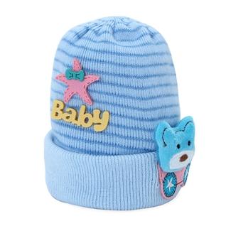 Cùng Mua - Non len soc Baby hinh xe gau xanh MS05