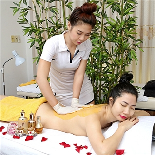 Cùng Mua - Tam tay body sua non hoac Massage body Thai va mat - Han Spa