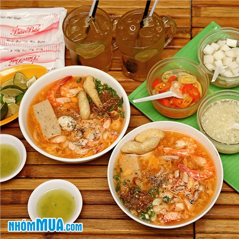 2 tô bánh canh cua đặc biệt + 2 ly trà chanh - Phú Quốc Quán