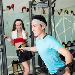 Cùng Mua - 4 tuan tap Gym (khong gioi han) - Diamond Fitness Center