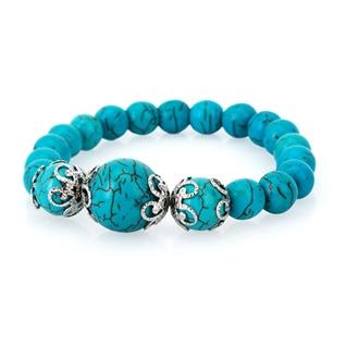 Cùng Mua - Lac tay da Turquoise xanh tu nhien charm
