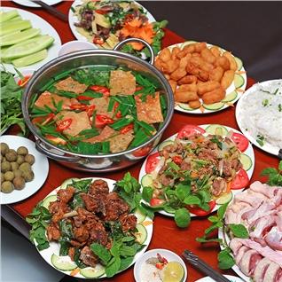 Cùng Mua - Set lau vit om sau cho 4 nguoi tai Nha Hang Ngan 24