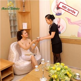 Cùng Mua - Thu gian massage body tinh dau da nong - TMV Maria Beauty 5*