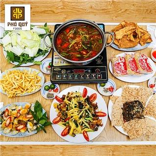 Cùng Mua - Set lau rieu cua bap bo/lau ech cho 4 nguoi - Lau Phu Quy
