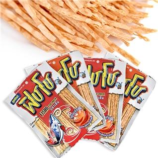 Cùng Mua - Combo 4 goi Snack ca tam gia vi Thai Fisho - 30gr/1 goi