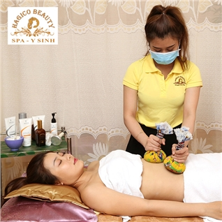 Cùng Mua - Massage tan mo bung tao dang eo thon 2 - 3cm tai Spa Hagico