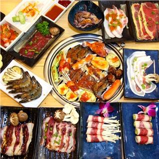 Cùng Mua - Buffet trua bo My nuong + lau hai san - Sukiya Kore