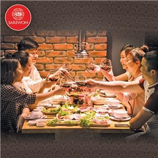 Cùng Mua - Buffet nuong lau Han Quoc - Sariwon Korean Hotpot va Grill