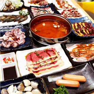 Cùng Mua - Buffet toi bo My nuong va lau hai san - Sukiya - Vincom