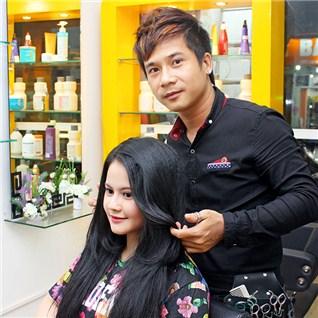 Cùng Mua - Uon/Duoi/Nhuom/Bam xu + phuc hoi collagen - Hair King