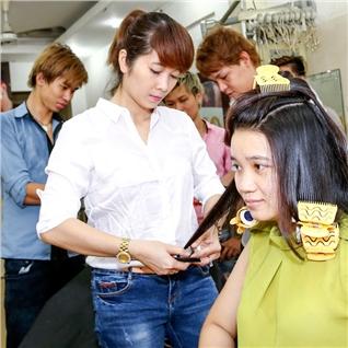 Cùng Mua - Uon/Duoi/Nhuom + Cat + Goi + Say + Hap Dau Salon Long Nguyen