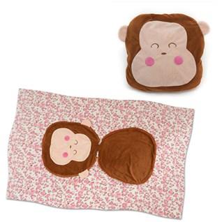 Cùng Mua - Men goi 2 in 1 thu gon da nang hoa tiet Monkey