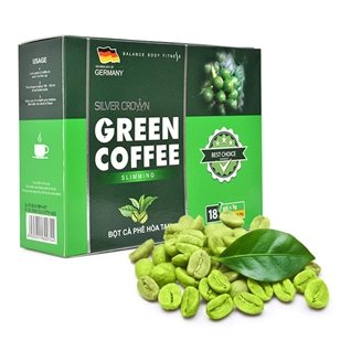 Cùng Mua (off) - Ca phe giam can Green Coffee Silver Crown