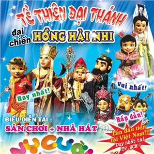 Cùng Mua - Xem mua roi + 1 phan an sang cho be-San khau Nha Hat Nu Cuoi