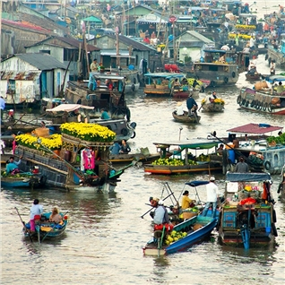 Cùng Mua - Tour Tien Giang - My Tho - Ben Tre - Can Tho 2N1D