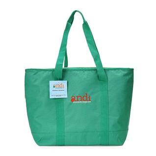 Cùng Mua - Tui giu nhiet shopping cooler bag 8 gallons hieu Andi - xanh