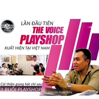Cùng Mua - Cai thien giong hat sau 1 buoi playshop - The Voice Playshop