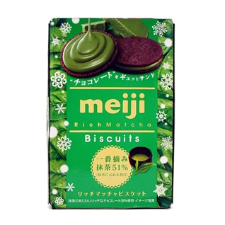 Cùng Mua - Banh Biscuits Meiji Tra xanh 99g
