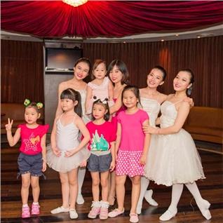 Cùng Mua - 1 thang (8 buoi) hoc Ballet/Aerobic Kid tai Dandelion Club