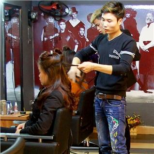 Cùng Mua - Tron goi goi + hap + say tao kieu cho nu tai HIP Hair Salon