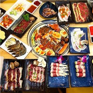 Cùng Mua - Buffet toi bo My, hai san, lau, free nuoc ngot -Hongkong Town