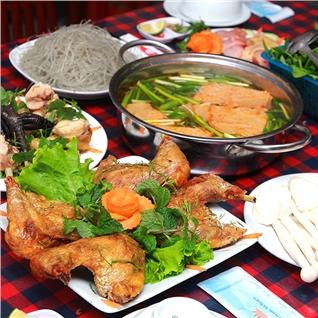 Cùng Mua - Dac san ga Hai Duong che bien 3 mon 1.4-2.6kg cho 2/4 nguoi