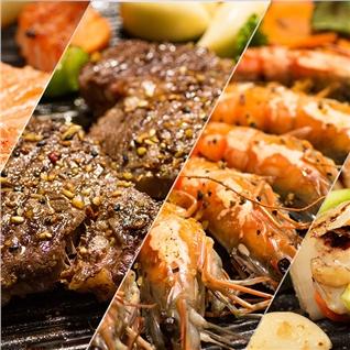Cùng Mua - Buffet BBQ, Lau, Hai San tha ga hon 80 mon-Nha hang San Ho Do