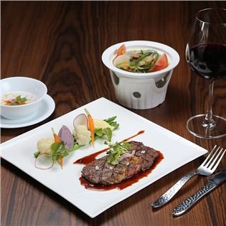 Cùng Mua - Set Dinner cao cap 5*view pho di bo cuc dep-Nha hang Fusion68