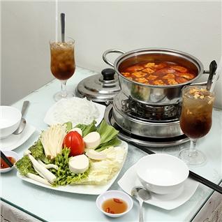 Cùng Mua - Lau nam/Thai chay dac sac+da me cho 2 nguoi - Bo De Ngoc Xanh