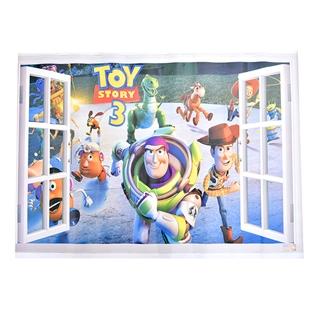 Cùng Mua - Decal 3D cao cap dan tuong co can lua - loai 1- Toy Story 3