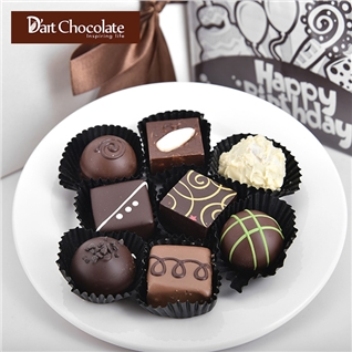 Cùng Mua - Hop Socola tuoi 9 vien tuy chon – Thuong hieu D'art chocolate
