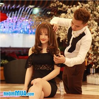Cùng Mua (off) - Tron goi cat + Uon/nhuom cho nam tai Vien toc Hung Nguyen