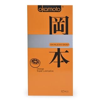 Cùng Mua - Combo 3 hop BCS Okamoto Skinless Skin Orange Lubricated-10's