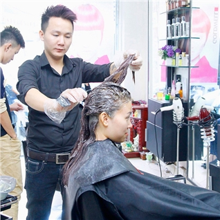 Cùng Mua (off) - Cat + nhuom/ uon/ ep tai Nhung Hair Salon va Spa