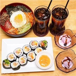 Cùng Mua - Thuong thuc Combo dac sac Han Quoc cuc ngon-Selfie Restaurant